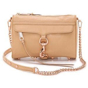 Rebecca Minkoff Mini Mac Rose Gold Bag